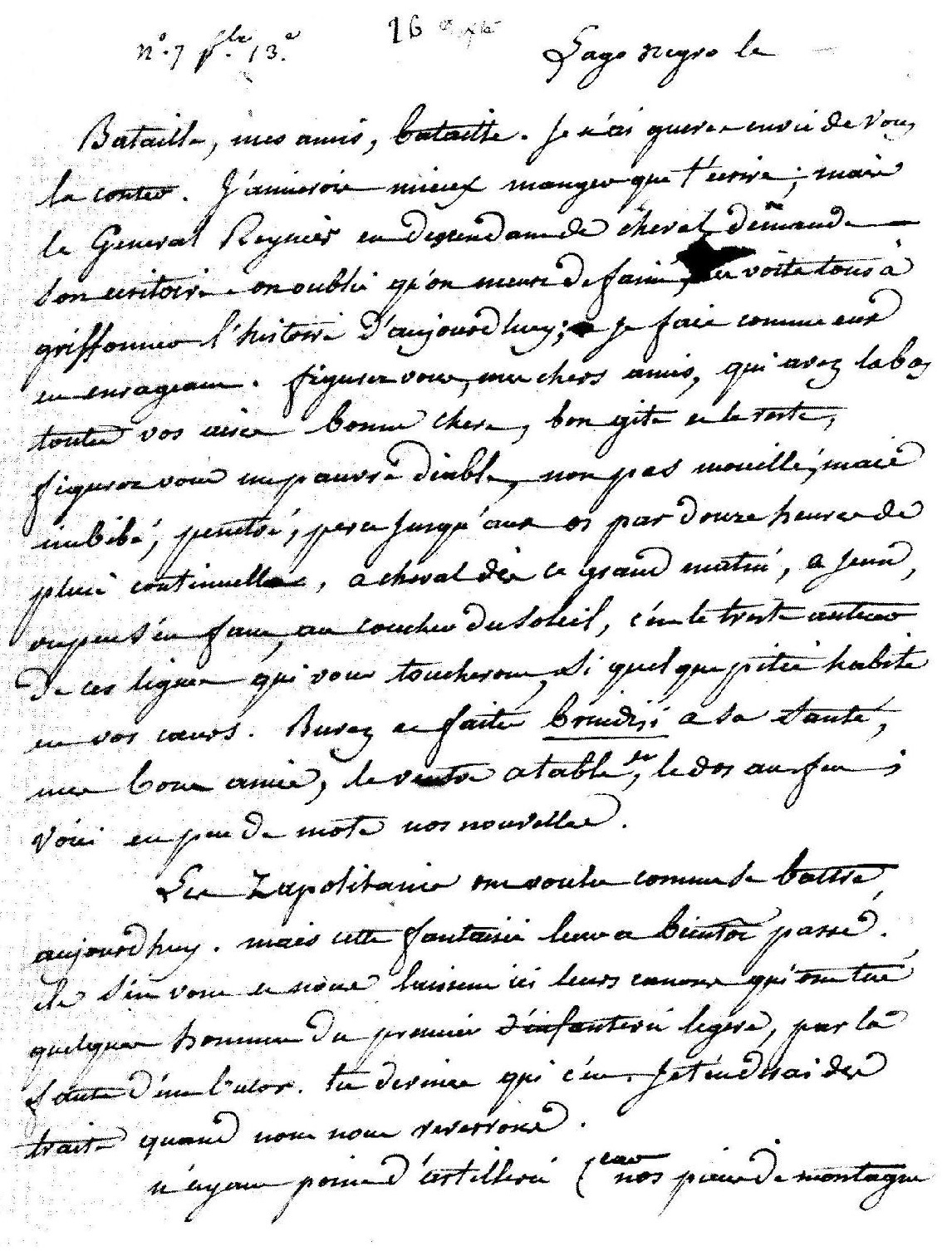 Copie de la lettre de Paul Louis Courier