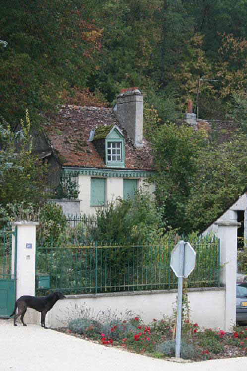 Eugène Bizeau's house  (photo JP Lautman)