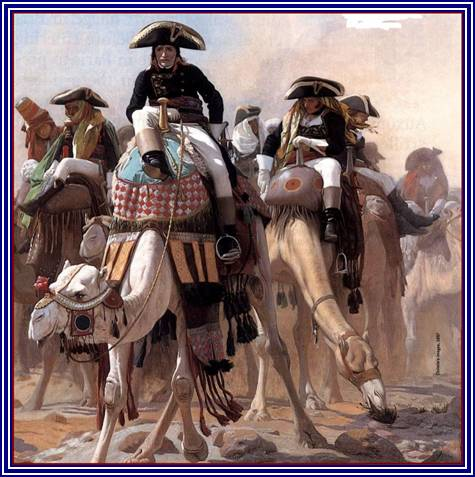 Bonaparte en Egypte par Job